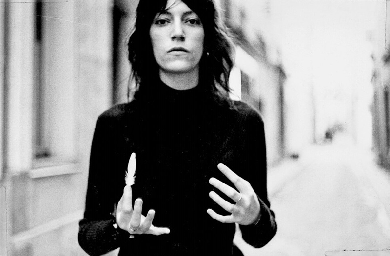 I invoke Patti Smith whenever I need to believe in what I am doing. Just looking at her gives me confidence. Everything Patti does is awesome. Here she is making magic in Paris in 1969.
