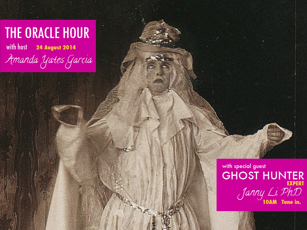 Poster for the Oracle Hour on KCHUNG, 24 August 2014.