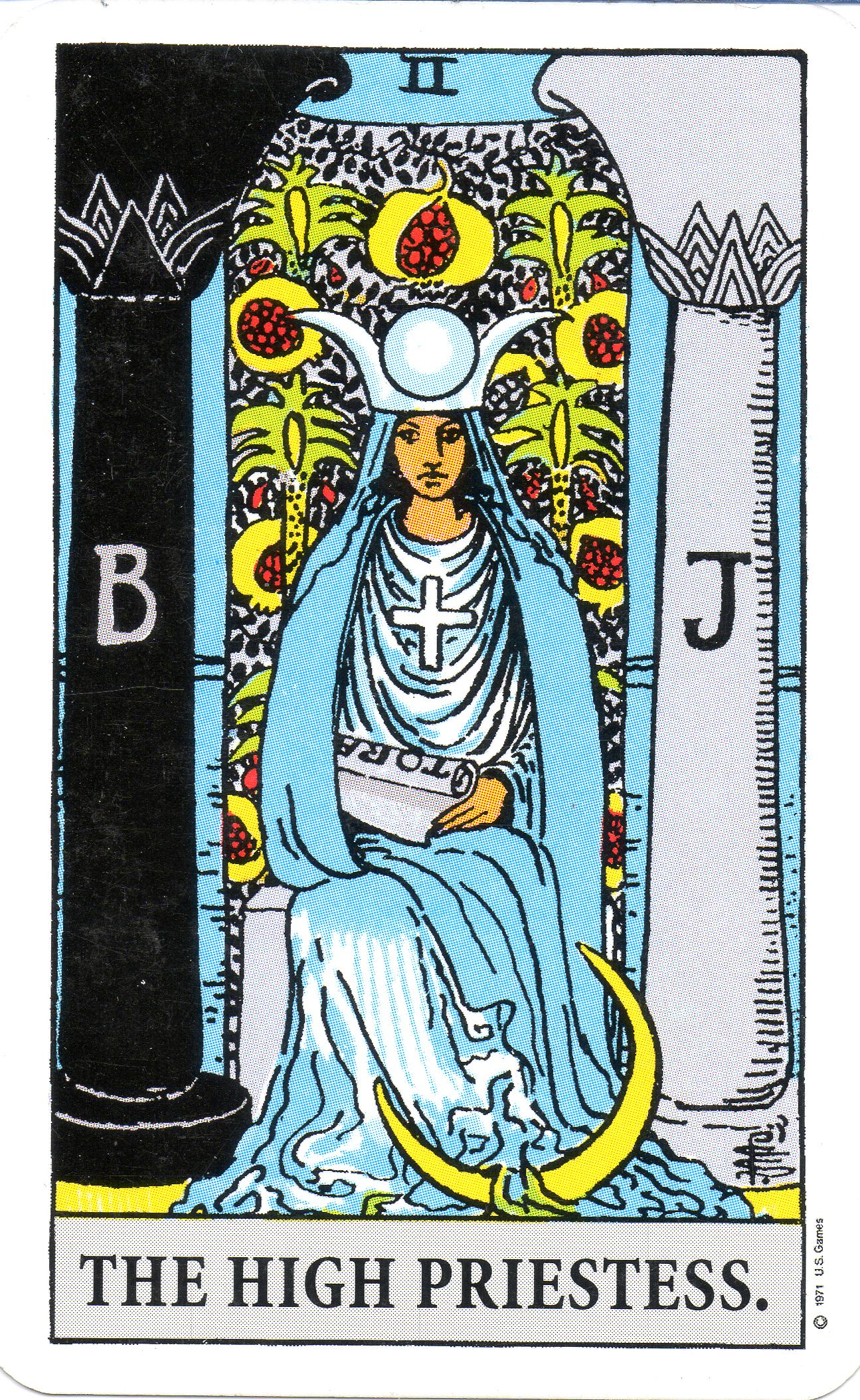 Messages From The High Priestess