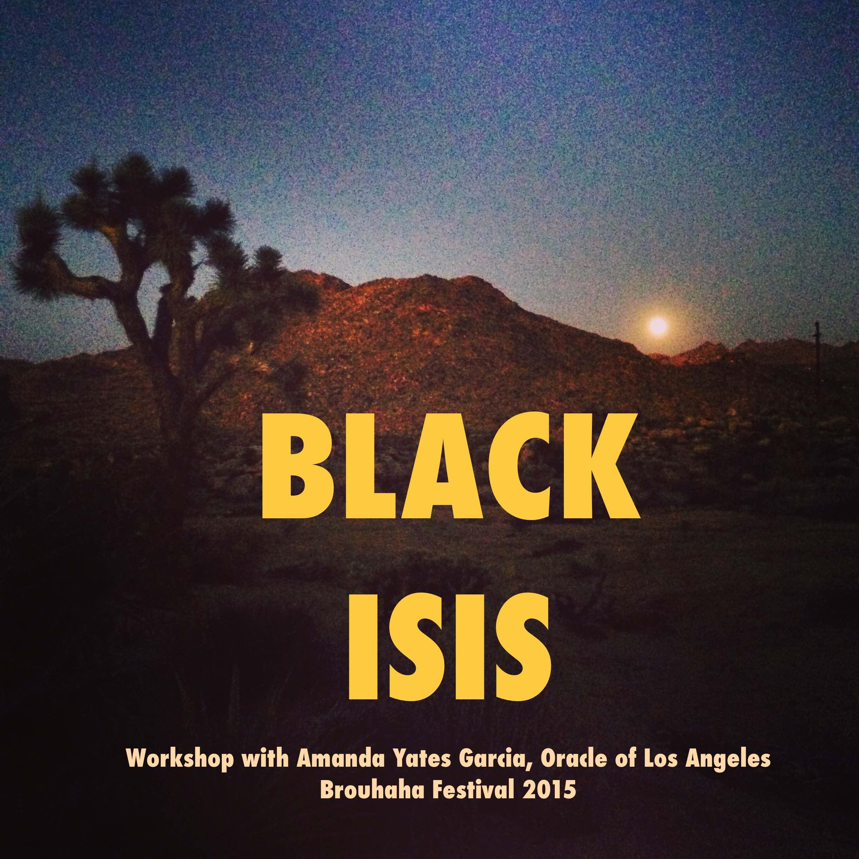 Black Isis Flier