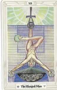 Hanged Man, Thoth Deck.