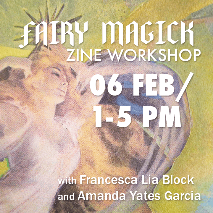 Fairy Magick Zine Workshop flier