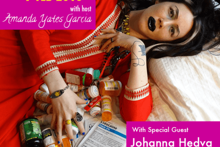 Oracle Hour flier for Johanna Hedva
