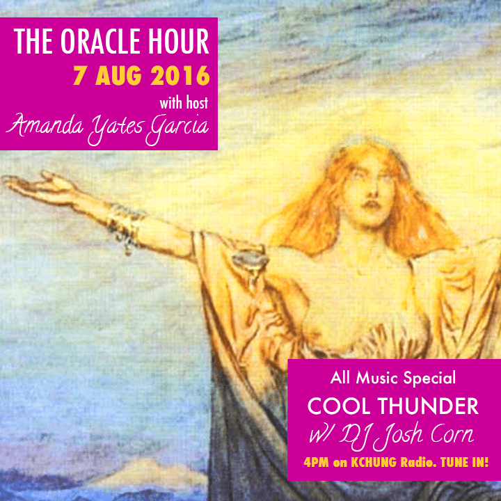 Oracle Hour- Cool Thunder flier.