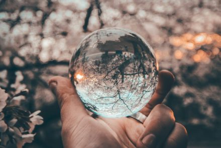 Crystal ball photo by Yeshi Kangrang